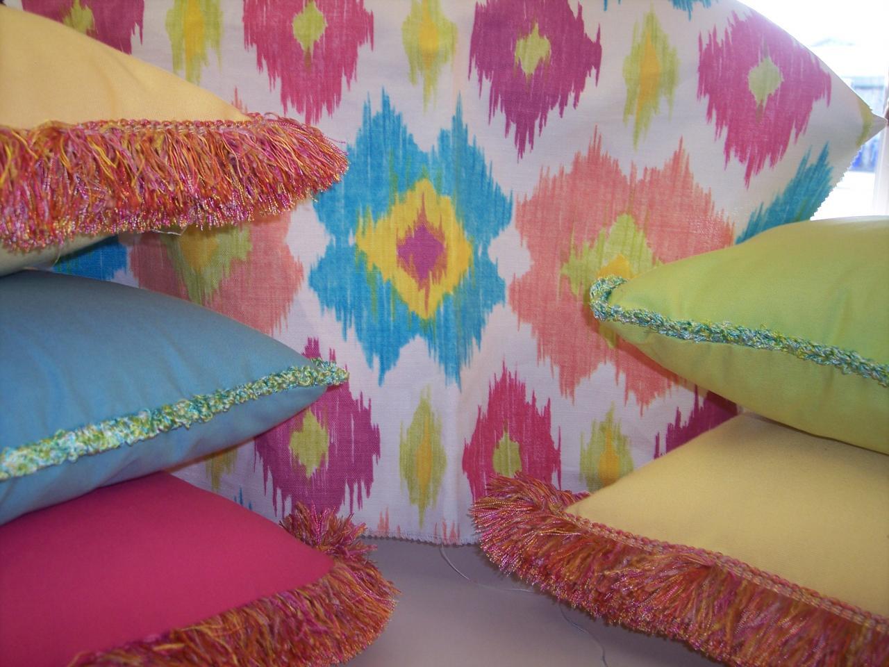 Multi Color Pillows