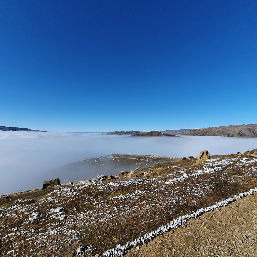 The inversion in the valley