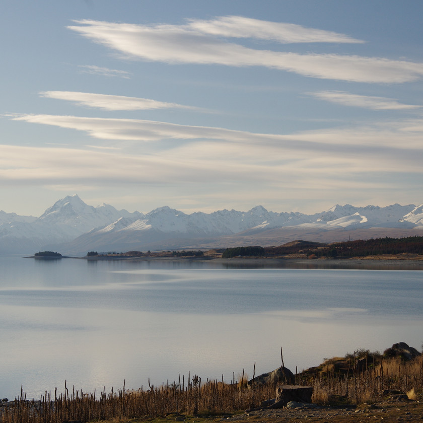 Mount Cook across Lake Pukaki