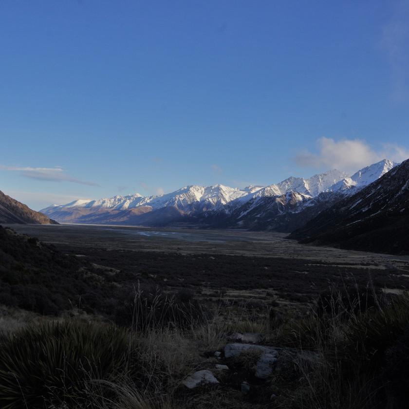 Tasman River valley
