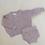 Thumbnail: Tiny Trove 純棉毛料短褲套組 (淺粉) - Emmi Sprinkle Knit Set Rose