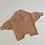 Thumbnail: Tiny Trove 針織純棉連身褲 (咖啡) - Olsen Knit Playsuit Ochre