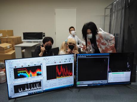 06/05 飛沫実験@慶應義塾大学研究室(奥田知明教授) レポート