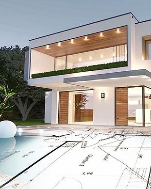 Eventyrhus fotorealistisk arkitekttegnin