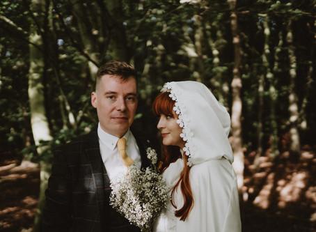 Retro Wedding, Woodhorn Museum. Northumberland Wedding Photography