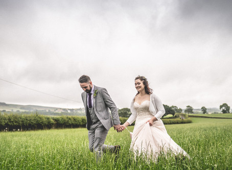 Festival Themed Wedding, Hexham. Northumberland Photographer