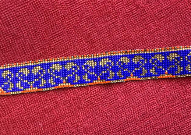 mbr beaded bracelet