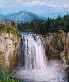 Seely Anniversary Commission- Snoqualmie falls