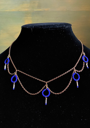 mbr chandelier necklace