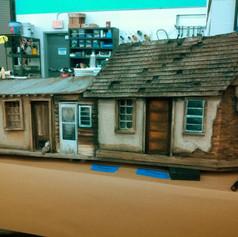 Hartford Stage: Quixote Nuevo, small buildings