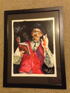 Thank you Portrait from Annex theatre to Bret Fetzer