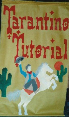 Lectern Felt Banner Commission for Northwest Film Forum