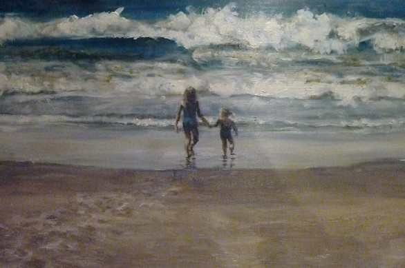 Seely Beach Painting Commission