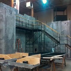 Seattle Opera Scenic Studios for The 5th Avenue Theatre: The Man of La Mancha, Matthew Smucker designer