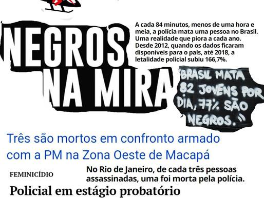 """""""TU SABES FULANO? LEVOU O FARELO!"""" - (DES) NATURALIZAR A NECROPOLÍTICA DA VIDA DO (A) AMAPAENSE"""