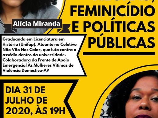 [LIVE] Mulheres negras, feminicídio e políticas públicas