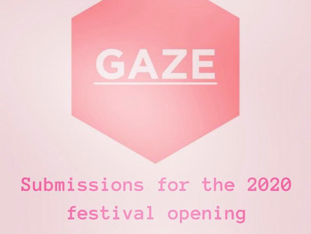 Submissions for GAZE 2020 open on December 2nd 2019