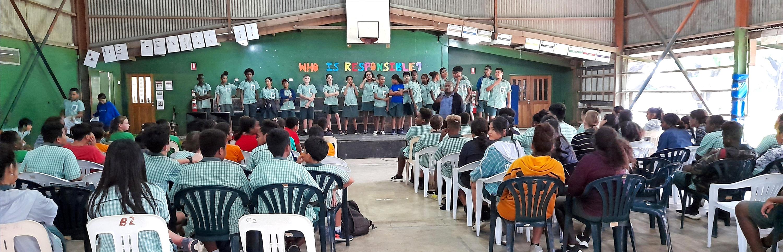 Woodford International School first Assembly.jpg