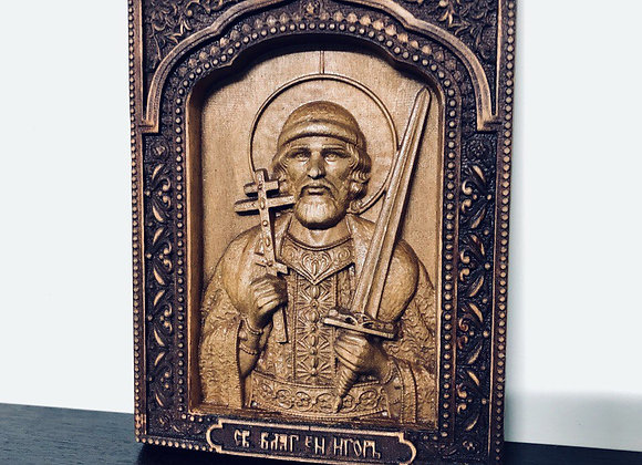 Икона св. Князь Игорь