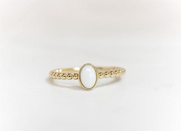 Bubble Opal Ring