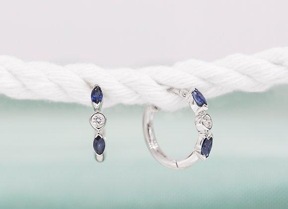 Ismay Sapphire Earrings
