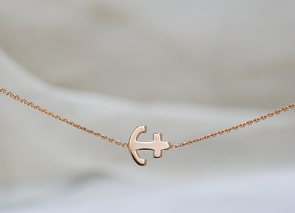 Anchored Heart Necklace