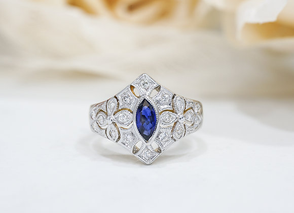 Duchess Sapphire Ring