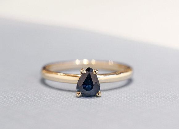 Blue Anjou Ring
