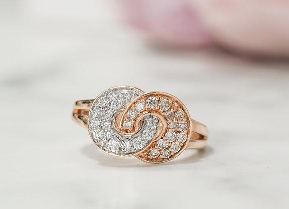 Dreamtime Interlocking Circles Ring