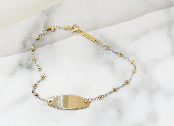 Identity Gold Bracelet
