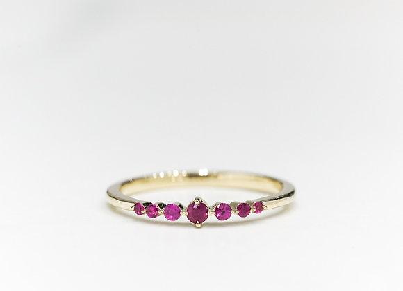 Ruby Stars Ring