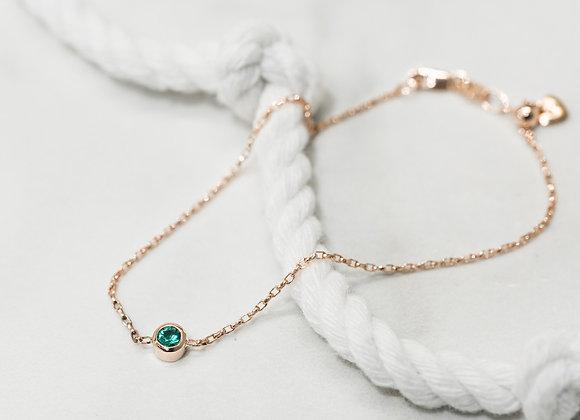 Micheli Signature Birthstone Bracelet ~ May