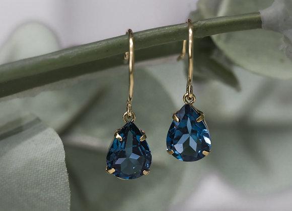 Blu Drop Earrings