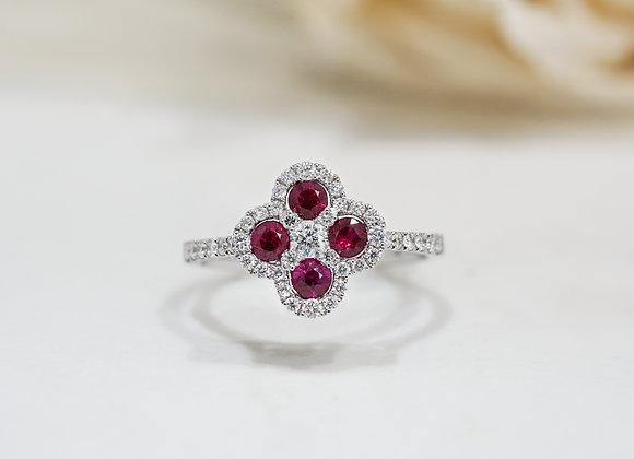 Ruby Fiora Ring