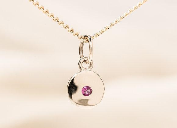 Micheli Pink Sapphire Pendant