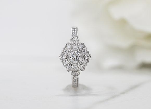 Yolanda II Diamond Dress Ring