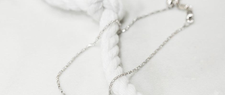 Micheil Signature Bracelet - Diamond