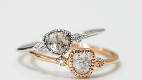 Salt & Pepper Diamonds…When The More Imperfections The Better.