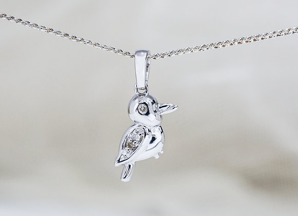 Kookaburra Diamond Pendant