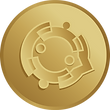 Símbolo da moeda do bem