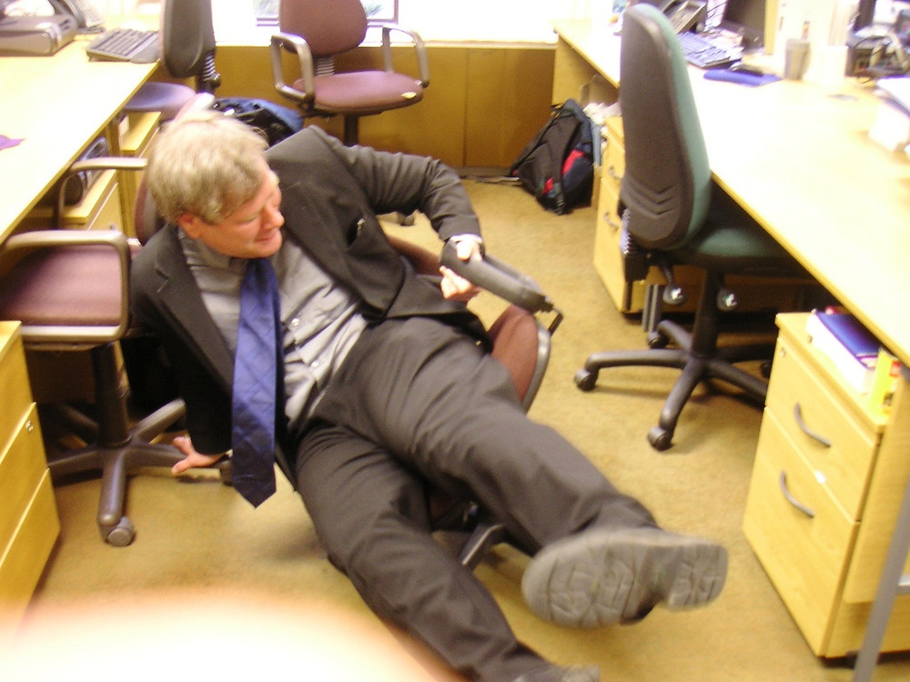 Office Chair Accident