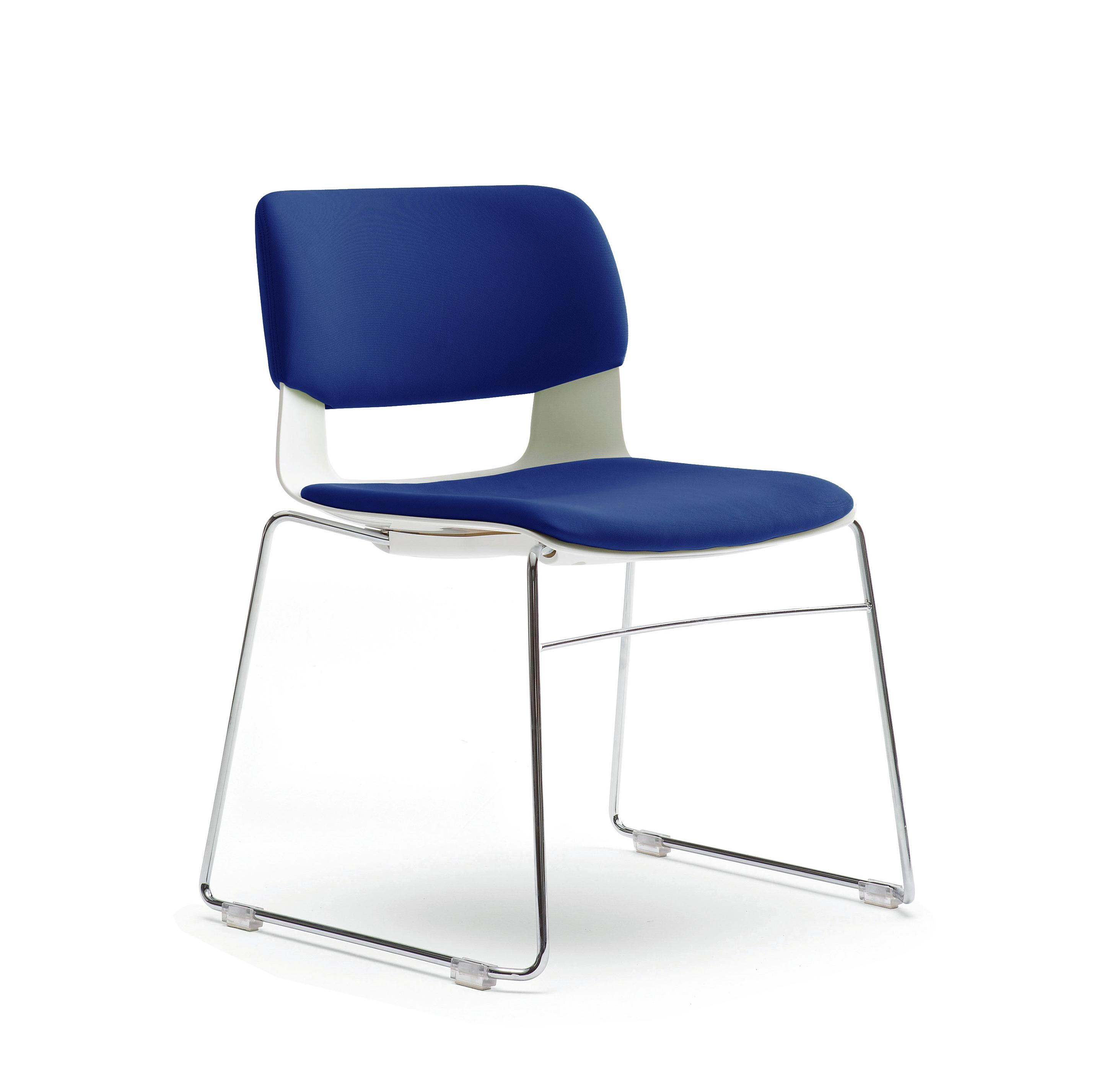 Sidiz Button Sleigh Chair