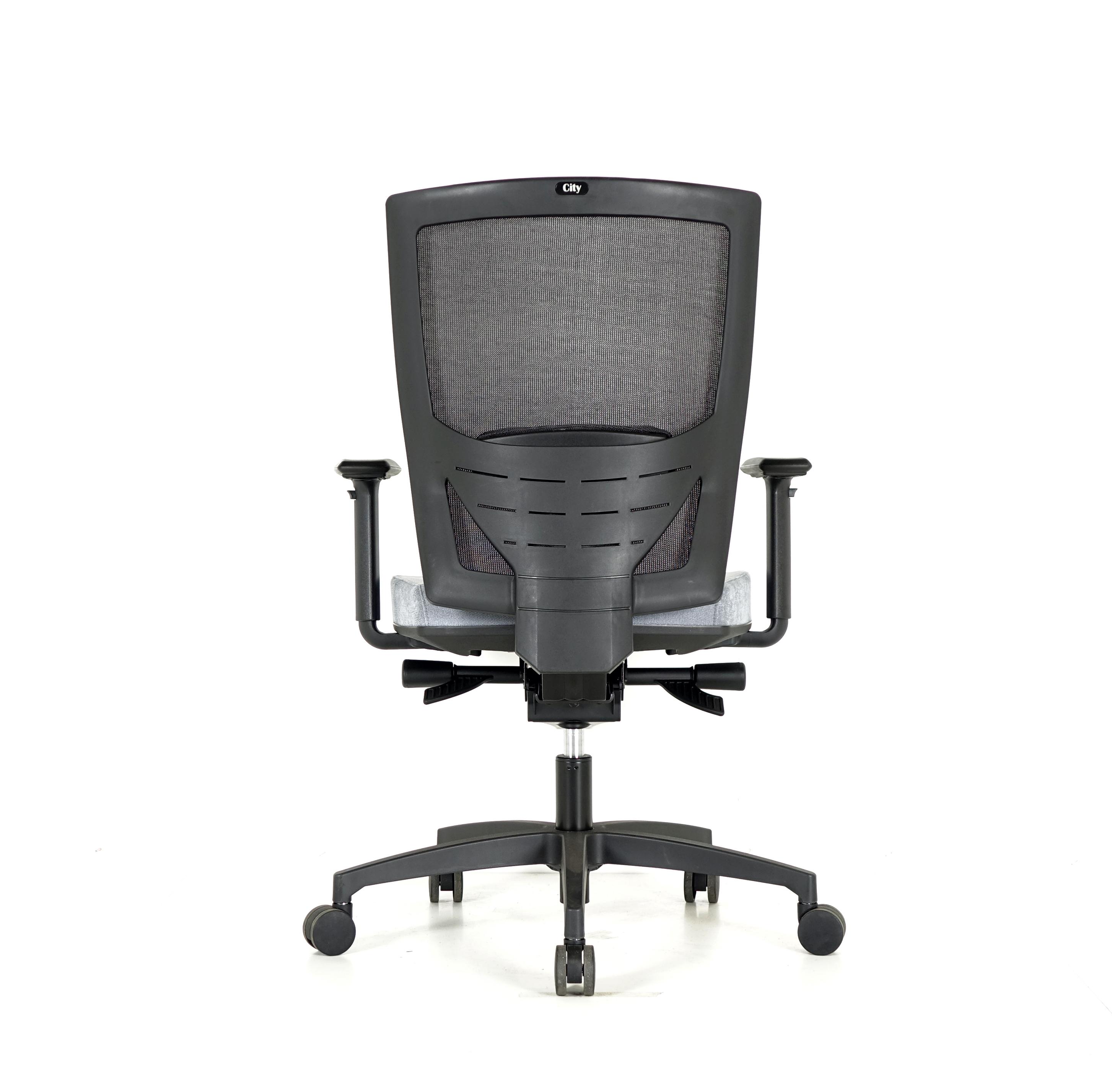 City Clerical Chair Rear
