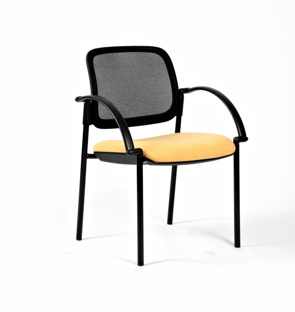 Titan Mesh 4 Leg Arm Chair