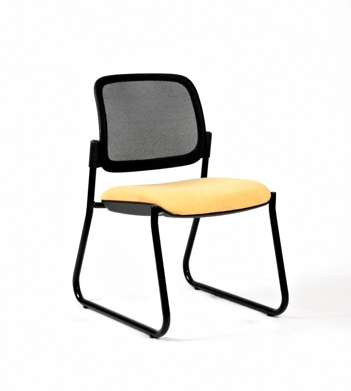 Titan Mesh Sleigh Side Chair
