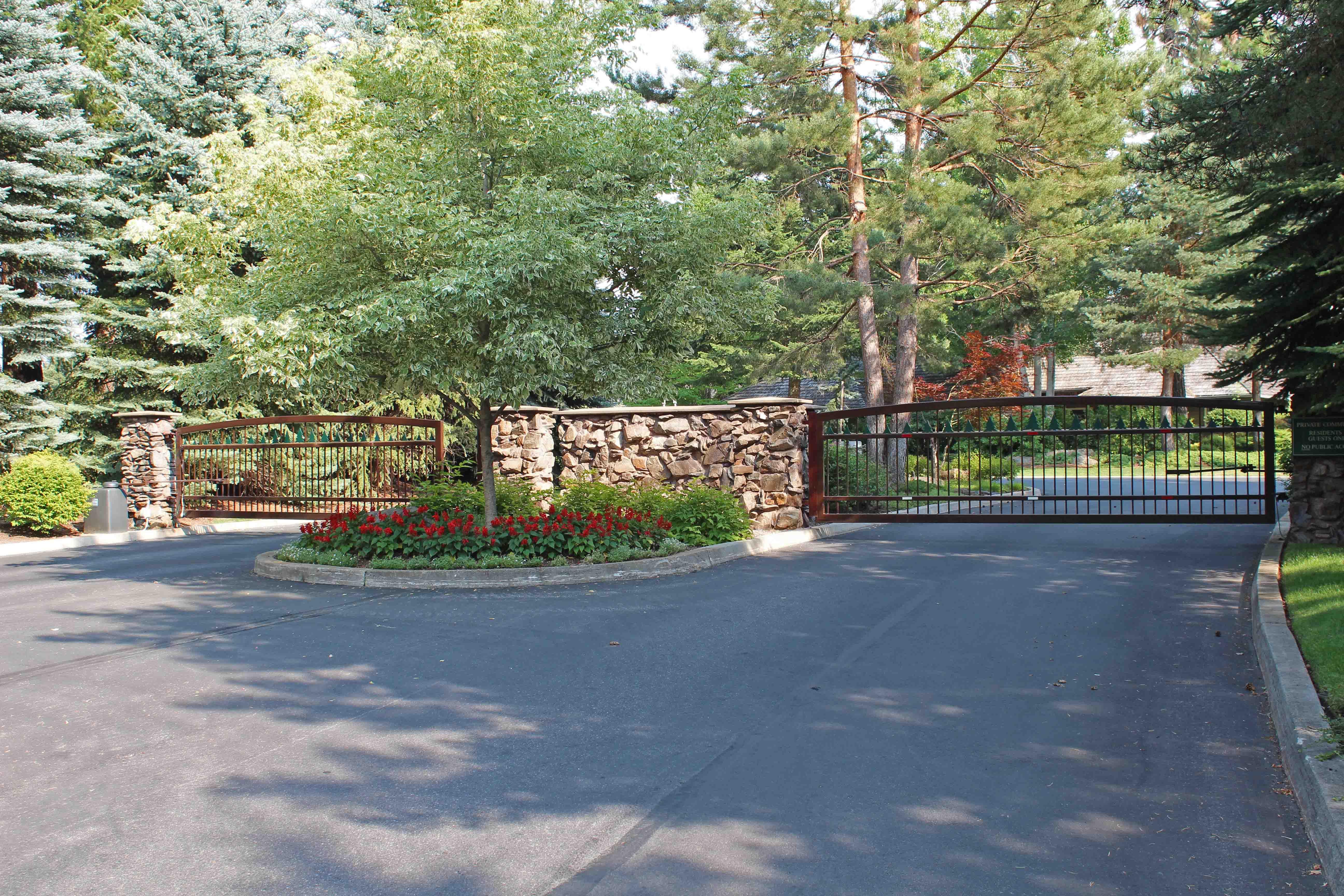 Forest Hills Gated Entrance