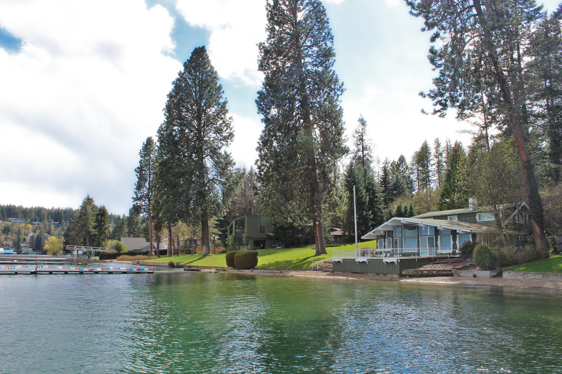 Hayden Lake waterfront