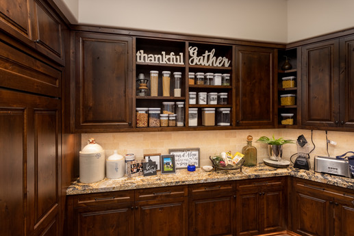 Cusomized Pantry with Tons of Storage