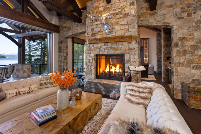 Impecable Use of Native Materials Throughout