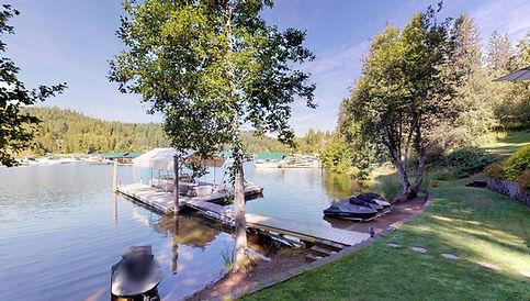 CDA Lake Waterfront Home